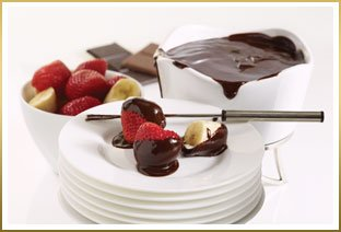 Chocolate Dipped Strawberries with Chocolate Fondue Recipe