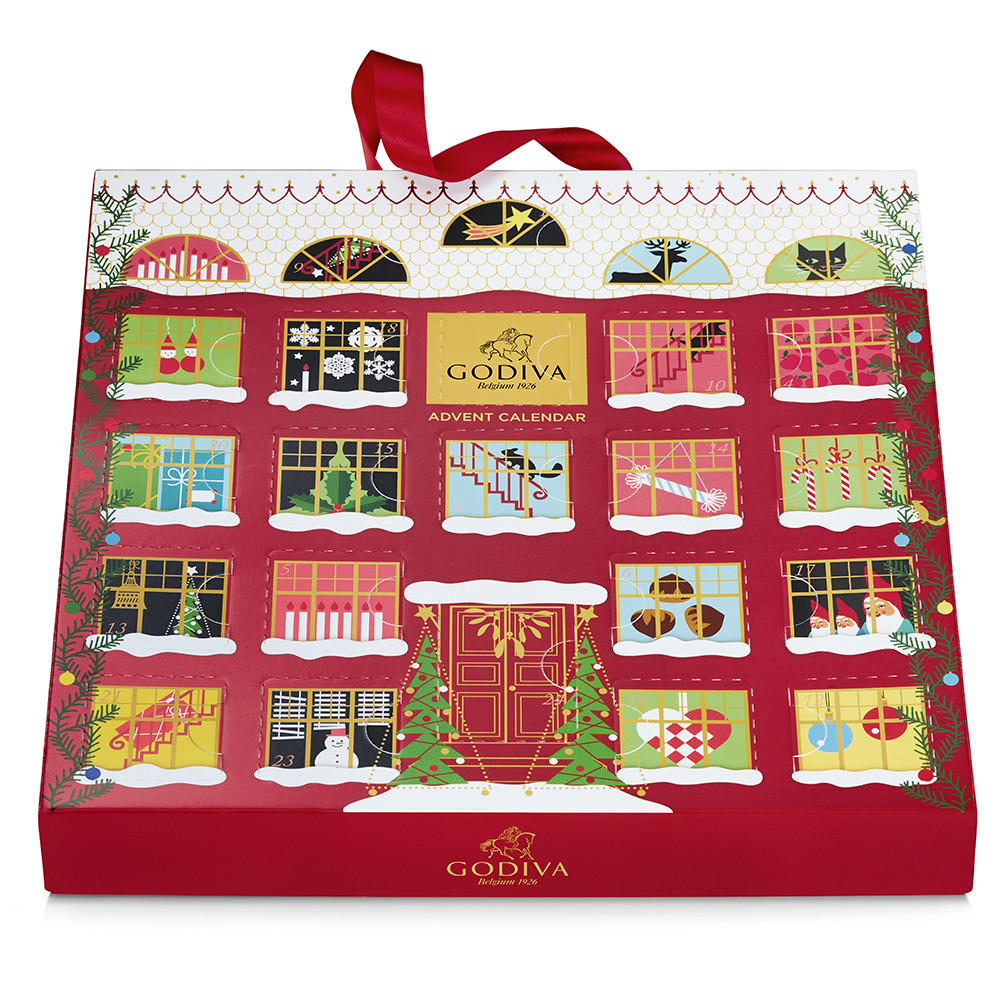 Christmas Chocolate Advent Calendar 2019 Godiva