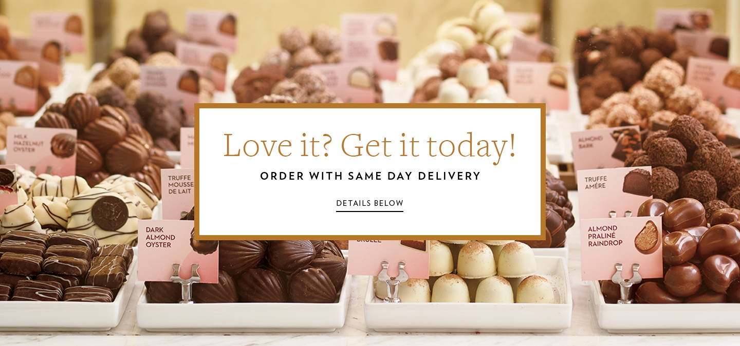 Seasonal Same Day Delivery For Last Minute Chocolate Gifts Godiva