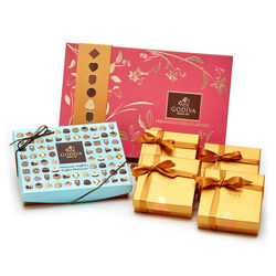 Summer Chocolate Entertaining Set for 4