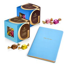 Own The Day Journal with G Cubes Truffles Box, Set of 2