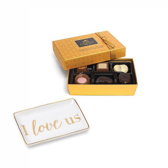 I Love Us Tray with Gold Discovery Gift Box, 6 pc. image number null