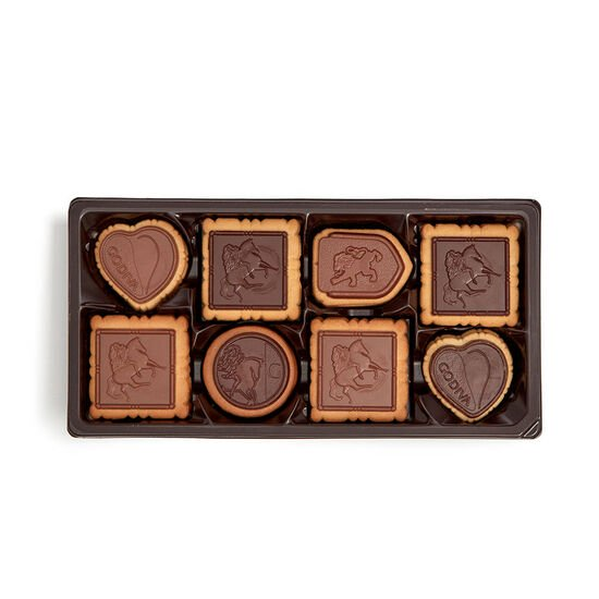 Assorted Chocolate Biscuit Gift Box, 20 pc. image number null