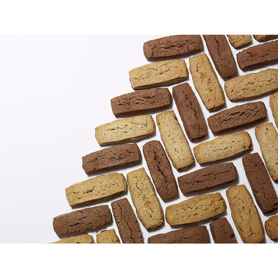 Asstd Chocolate Sables Biscuit Sampler, Set of 3, 6 pc. each image number null