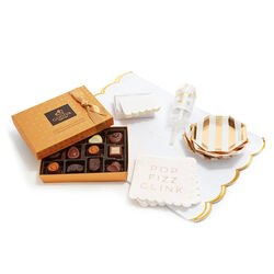 Let's Celebrate Entertaining Set with Gold Discovery Gift Box