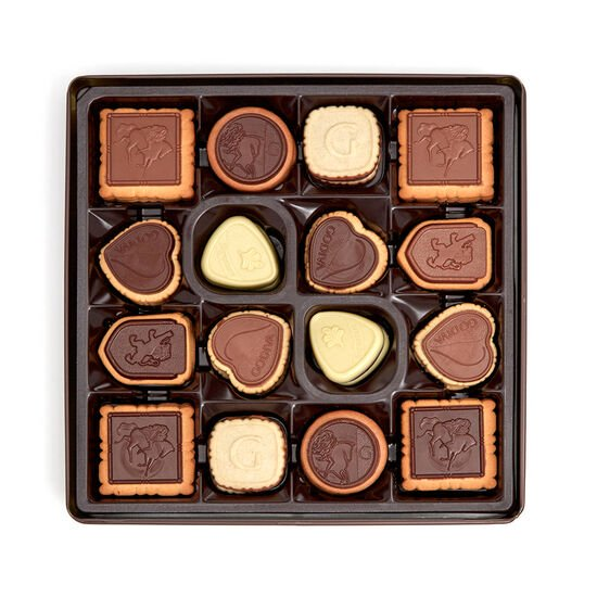 Assorted Chocolate Biscuit Tin, 46 pc. image number null