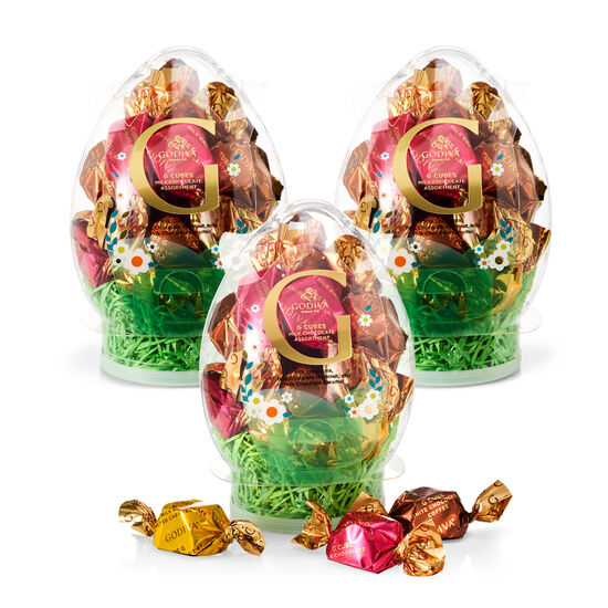 Assorted G Cube Easter Egg, 15 pc each., Set of 3 image number null