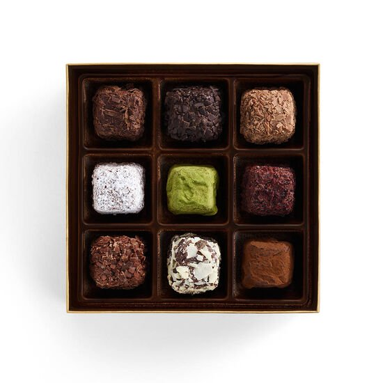 Cube Truffles  Gift Box, 9 pc. image number null