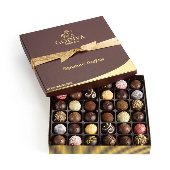 Ted Baker London Jewelry Box with Signature Chocolate Truffles Gift Box, 36 pc. image number null