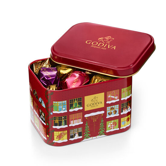 Holiday G Cube Small Tin, 15 pc. image number null