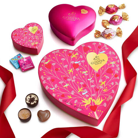 Sweet Hearts Gift Tower