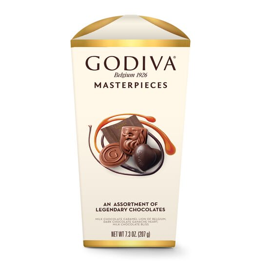 Wrapped Assorted Godiva Masterpieces Chocolate Box image number null