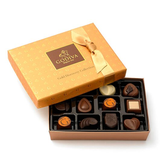 Gold Discovery & Classics Chocolate Gift Set image number null