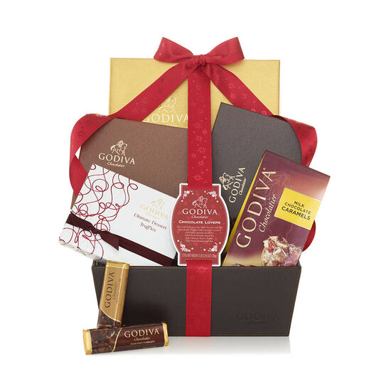 Chocolate Lovers Gift Basket image number null