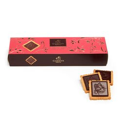Lady Godiva Dark Chocolate Biscuits, 12 pc.