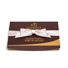 Signature Truffles Gift Box, Happy Birthday Ribbon, 24 pc.