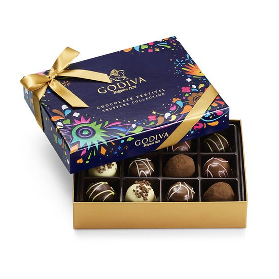 Chocolate Festival Truffles and Gold Collection image number null