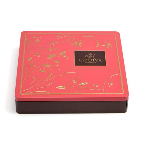 Assorted Chocolate Biscuit Tin, 46 pc.