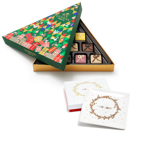 Oh Joy Tray with Limited Edition Petit Four Gift Box, 10 pc