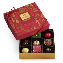 Assorted Chocolate Holiday Gift Box, 9 pc.