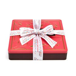 Chocolate Biscuit Tin, Happy Birthday Ribbon, 46 pc.