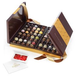 $100 GODIVA Holiday Gift Card & Ultimate Chocolate Truffle Collection, 80 pc.