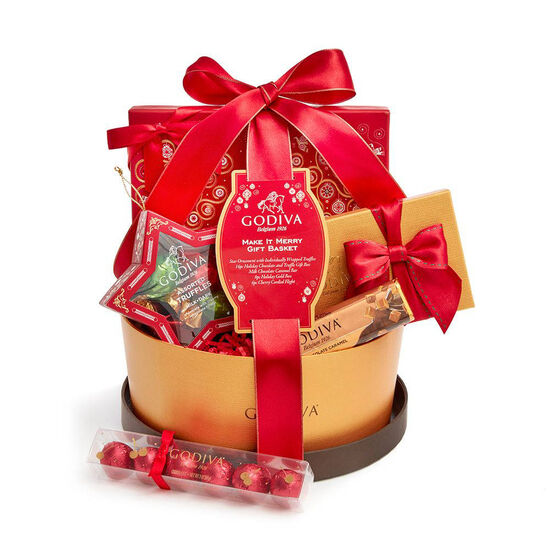 $50 Holiday Gift Card & Make It Merry Gift Basket image number null