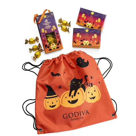 Spooky Treats with Halloween Backpack