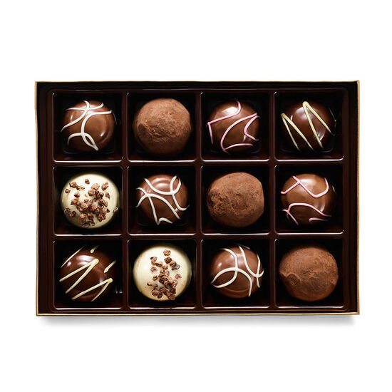 Chocolate Festival Truffles Collection Gift Box, 12 pc. image number null