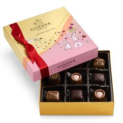 Valentine's Day Assorted Chocolate Gift Box, 9 pc.