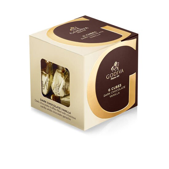 Dark Chocolate Vanilla G Cube Box, 22 pcs. image number null
