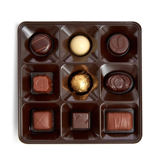 Holiday Assorted Chocolate Gift Box, 27 pc. image number null