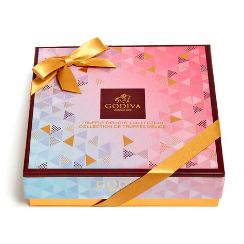 Chocolate Truffle Delight Gift Box, 9 pc