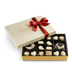 White Chocolate Gift Box, Fall Ribbon, 24 pc.
