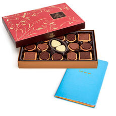 Own the Day Journal with Assorted Chocolate Biscuits, 32 pc.