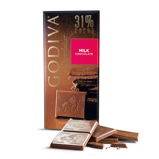 Milk Chocolate Bar, 31% Cocoa, 3.5 oz. image number null