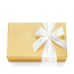 Assorted Chocolate Gold Gift Box, Congratulations Ribbon, 70 pc.