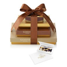 $50 Gift Card & Sweet Surprise Chocolate Gift Tower