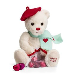 Valentine's Day 2020 Limited Edition Plush Teddy Bear with Chocolate Hearts