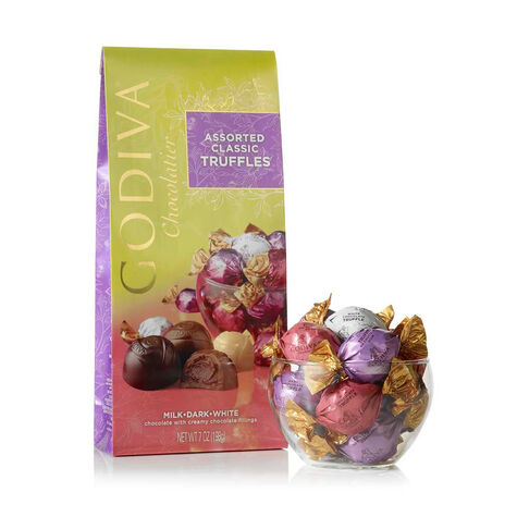 Wrapped Assorted Spring Chocolate Truffles
