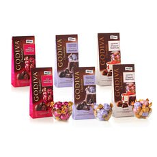 Wrapped Chocolate Truffles Sampler, Large Bags, Set of 6, 19 pc. each