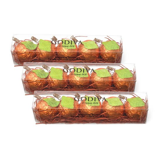 Chocolate Pumpkin Spice Truffle Flight, Set of 3, 5 pc. each image number null