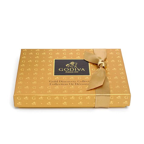 Navy Shawl with Gold Discovery Gift Box, 12 pc.