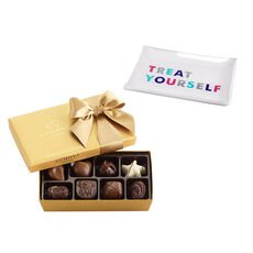 Treat Yourself Tray with Assorted Chocolate Gift Box, 8 pcs.