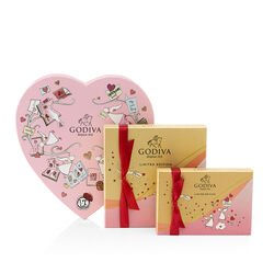 Valentine's Day Chocolate Gift Box Assortment Set