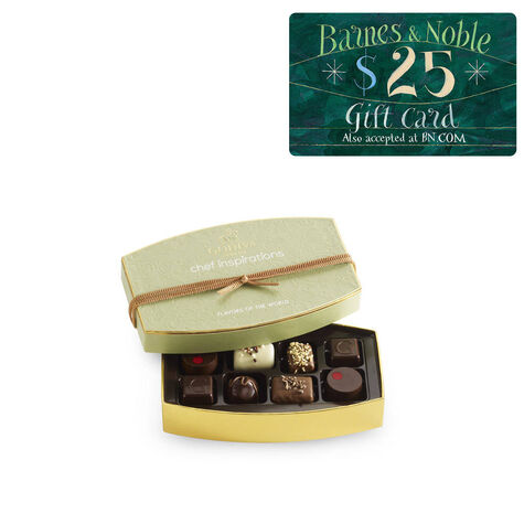 Flavors of the World Gift Box and Barnes & Noble Gift Card