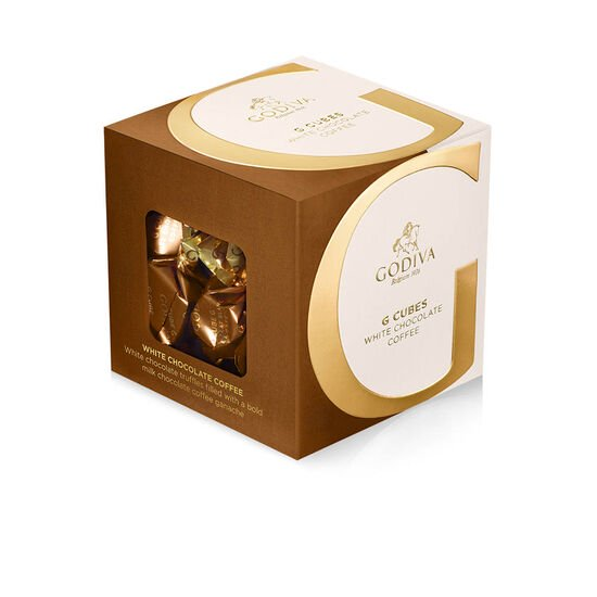 White Chocolate Coffee G Cube Box, 22 pcs. image number null