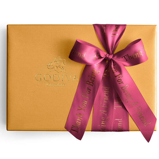 Assorted Gold Gift Box, Personalized Wine Ribbon, 70 pc. image number null