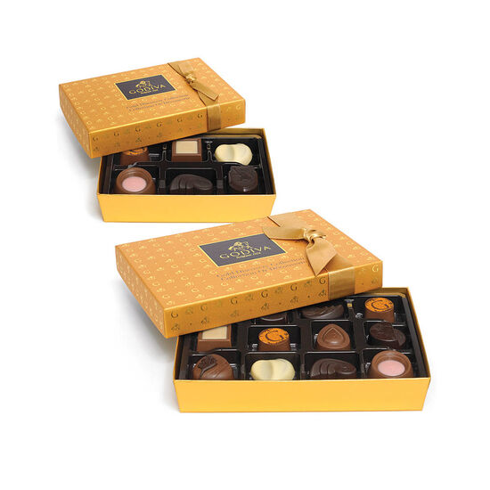 Gold Discovery Chocolate Gift Box Set image number null