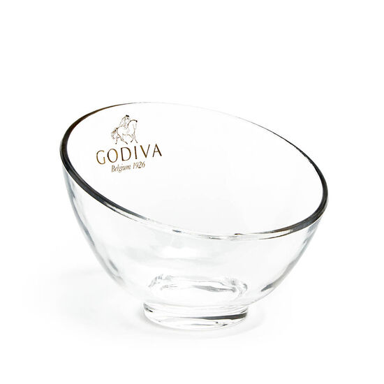 Godiva Chocolate Candy Bowl & Classic Dark Chocolate G Cube Box (Set of 2) image number null